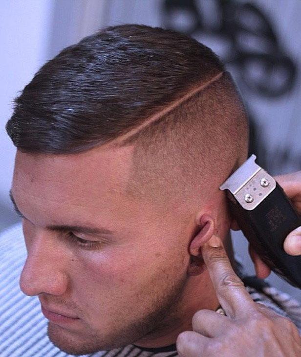 Стрижки волосы мужские