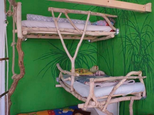 Оригинальные детские кровати своими руками 46