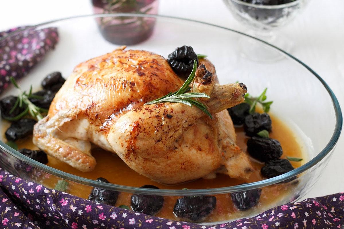 Куриные ножки фаршированные с черносливом рецепт