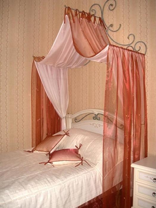 Как сделать балдахин над кроваткой своими руками фото 26