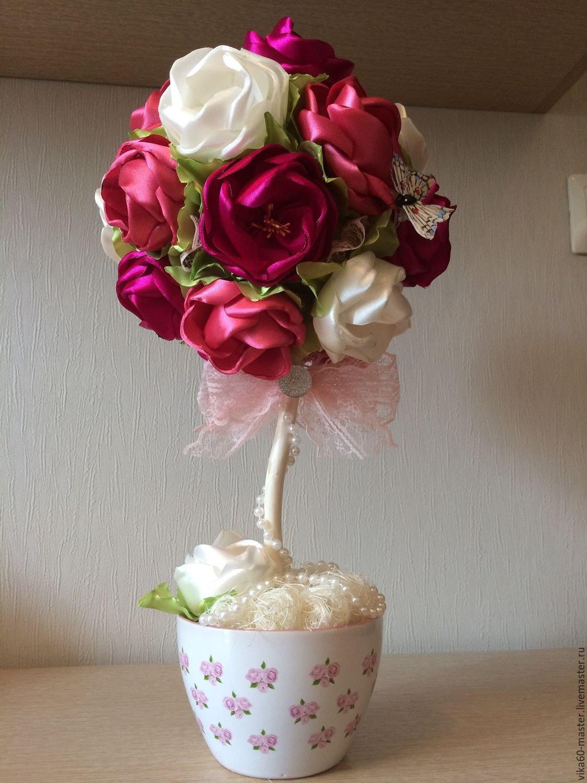 Видео топиарий роза