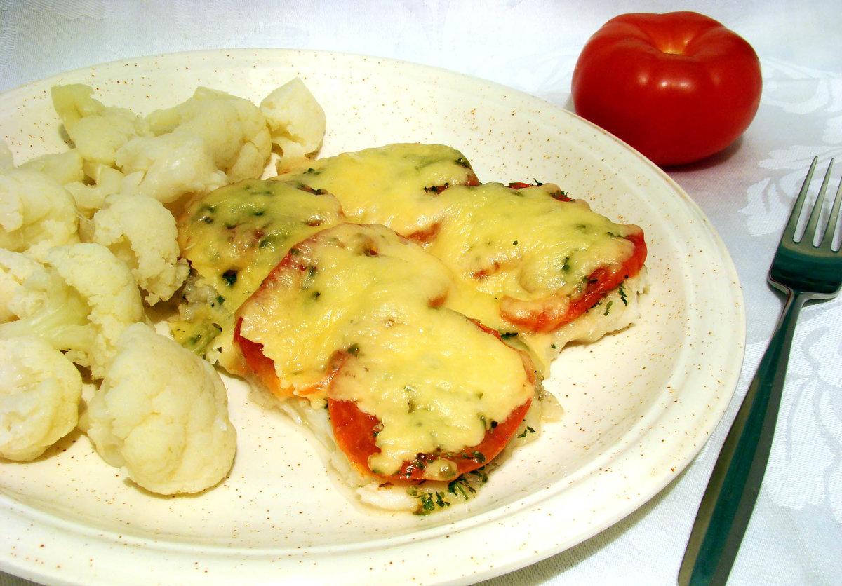 Сёмга в духовке рецепты с сыром и помидорами