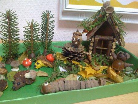 Поделки в детский сад своими руками фото тема осень