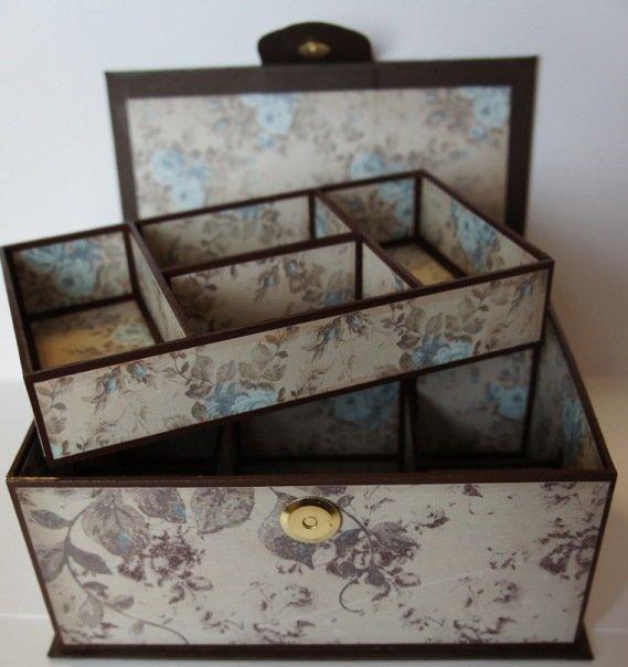 Шкатулки своими руками из коробок картонных