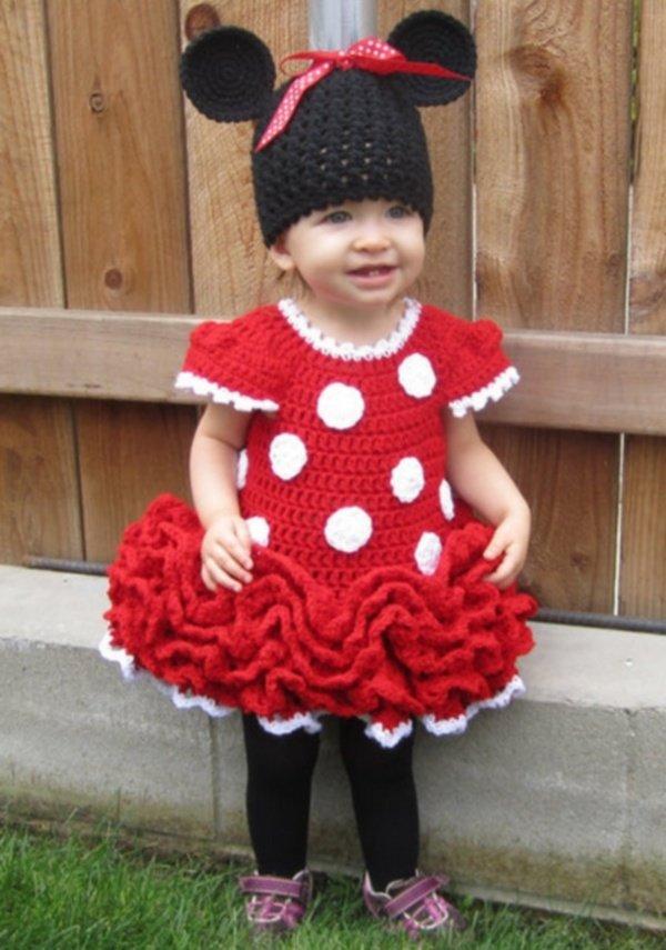 Детское вязание шапочки для девочек