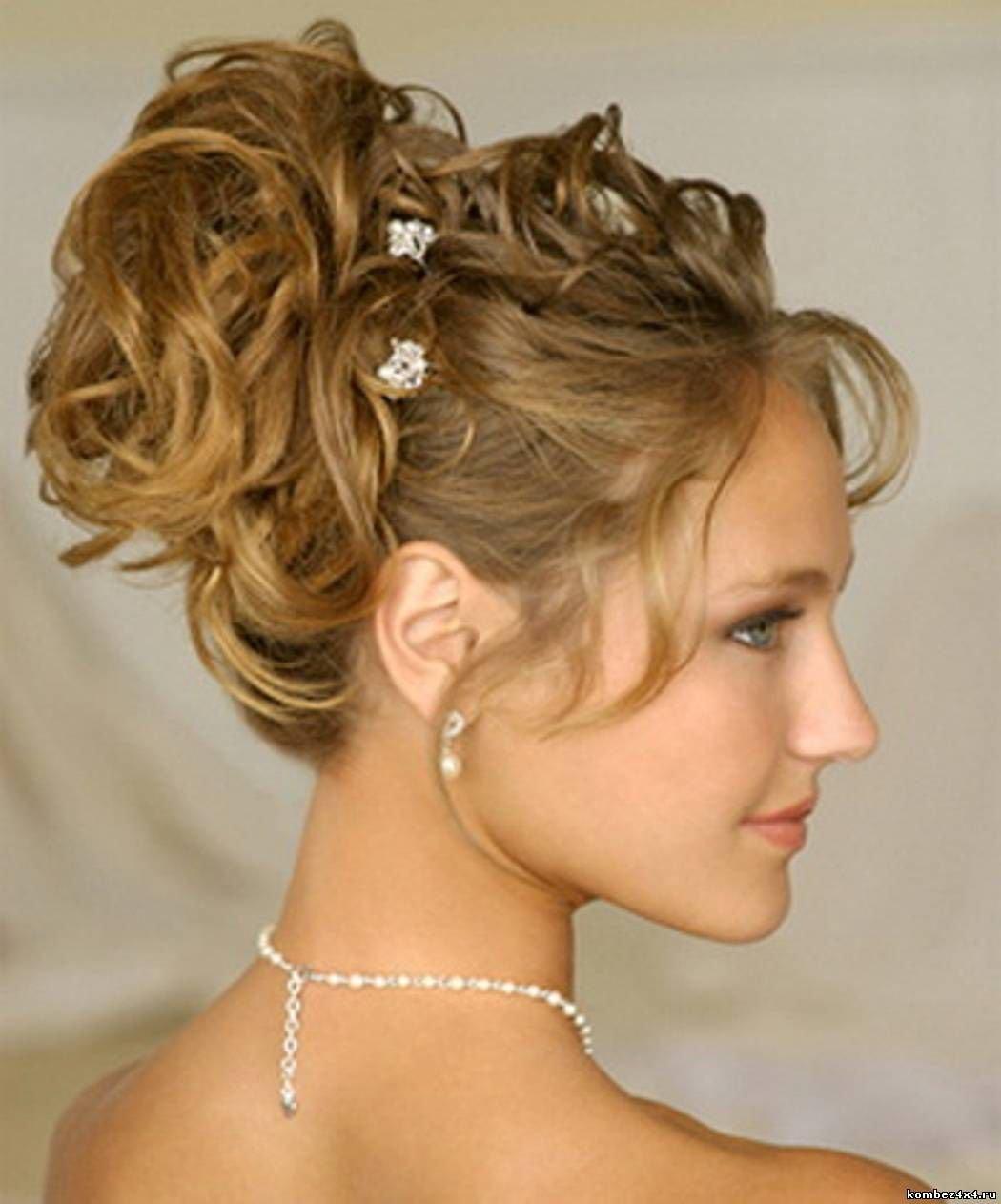Фото красивых причёсок на средние волосы с чёлкой