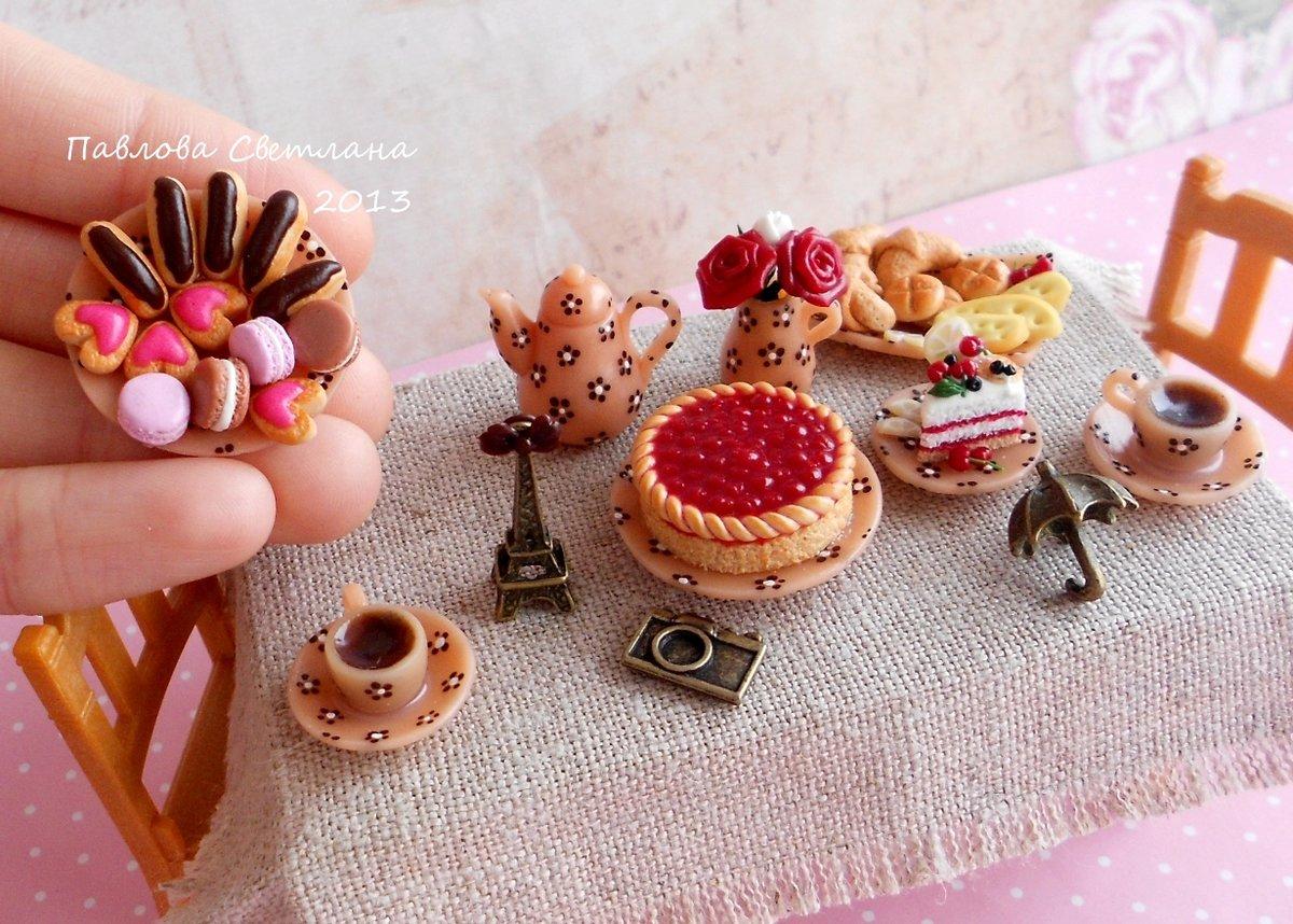 Вещи для кукол из полимерной глины своими руками 87