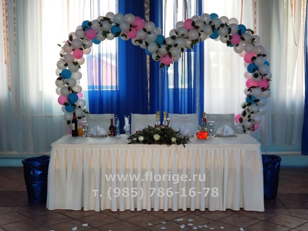 Как сделать арку для свадьбы из шаров своими руками 5