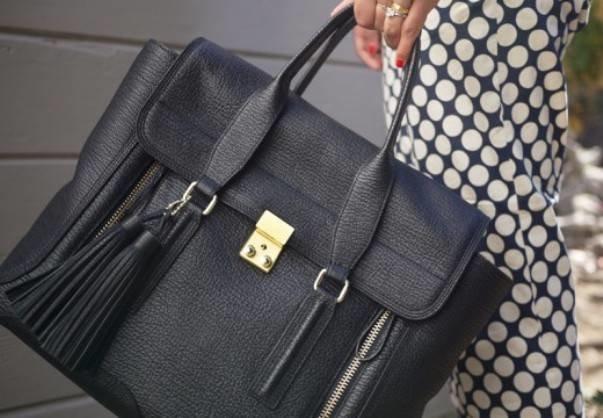 Кисточка из кожи на сумку