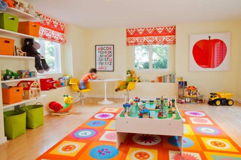 Оформление игровой комнаты в детском саду фото своими руками 44