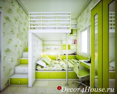 Интерьер комнаты для разнополых детей разного возраста фото