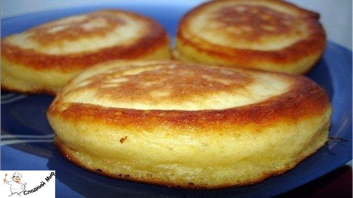 Оладушки на кефире пышные рецепт с пошагово с разрыхлителем рецепт с