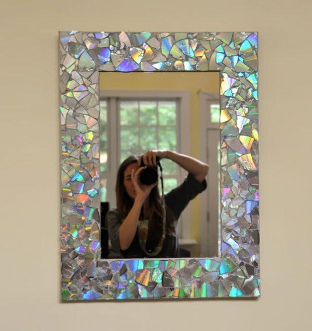 Декорирование рамы для зеркала своими руками