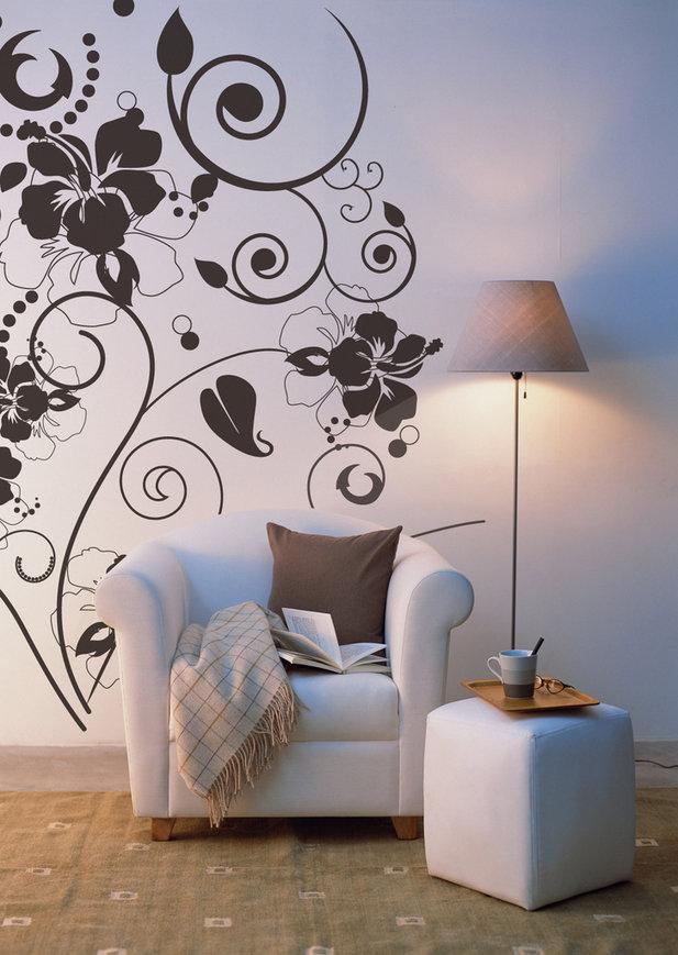 Как рисовать на стенах в квартире своими руками