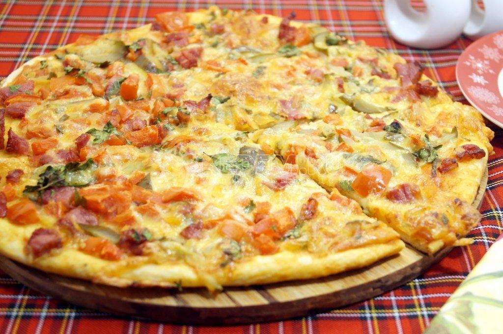 Пицца своими руками рецепты с фото 79
