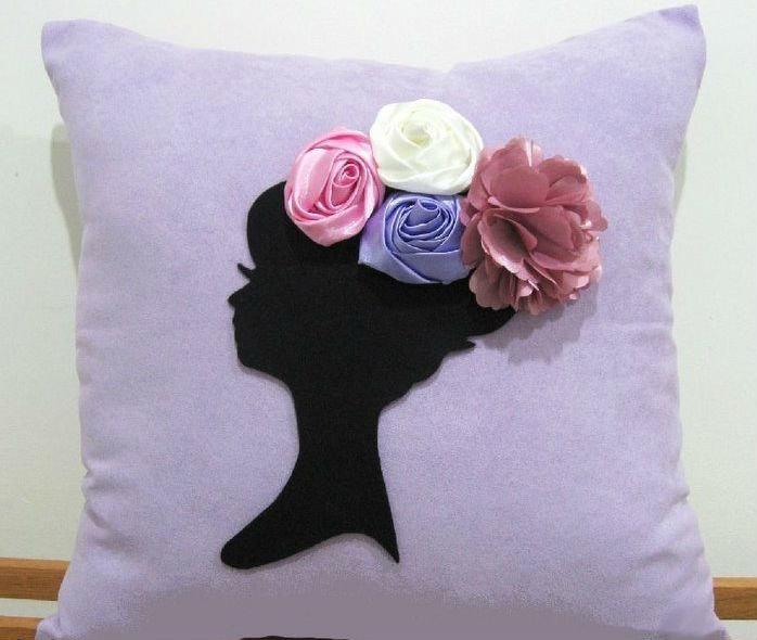 Красивые подушки своими руками фото 67