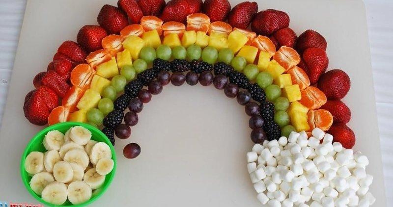 Салат из фруктов рецепт для детей
