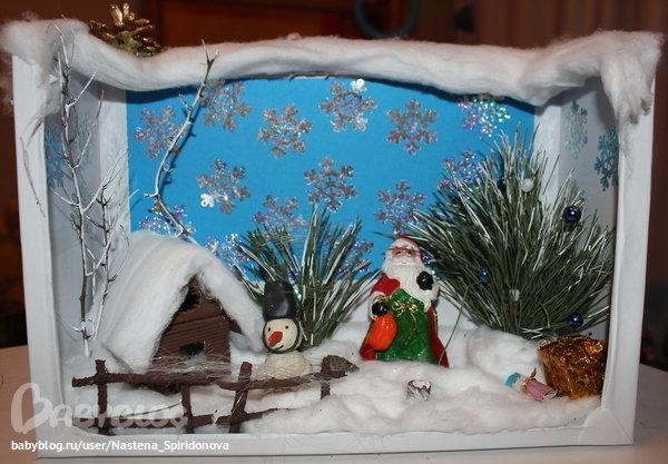 Поделки на зимнюю тему с дедом Морозом - карточка от пользователя tihon4eva в Яндекс.Коллекциях