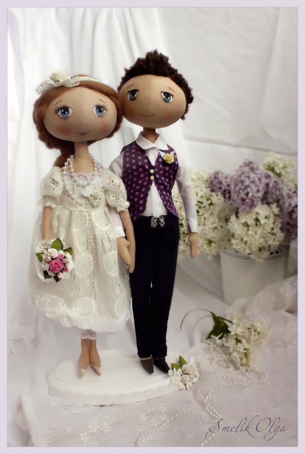 Куклы к свадьбе своими рукам и