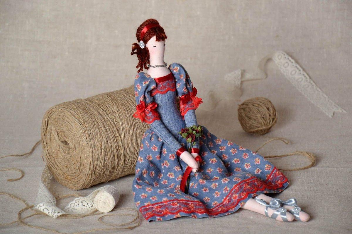 Оригинальная кукла своими руками