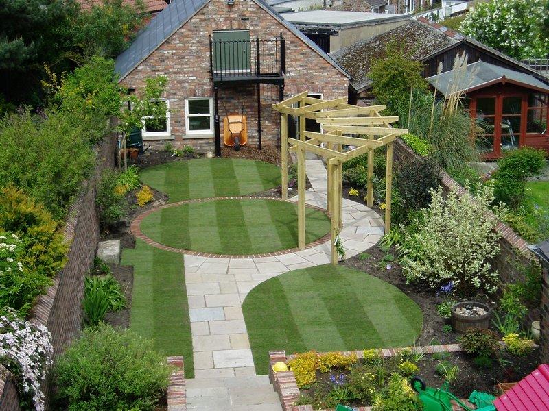 Садовый ландшафтный дизайн своими руками
