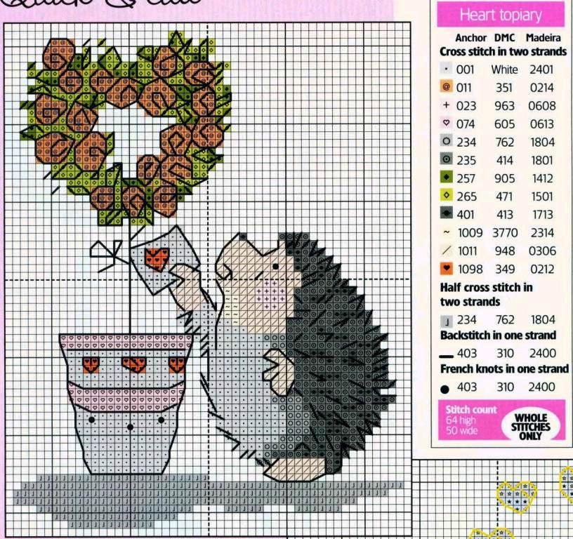 Схемы для вышивки простые it 995