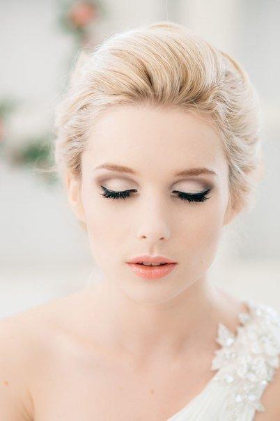 Фото нежный макияж невесты