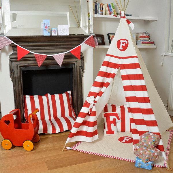 Палатка детская игровая вигвам своими руками