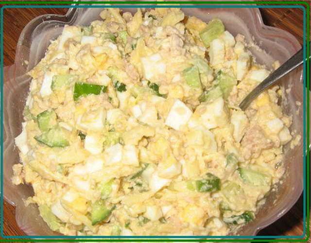 Грузинский салат с фасоли