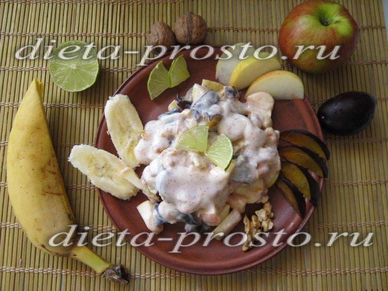 Диетический десерт из фруктов рецепт