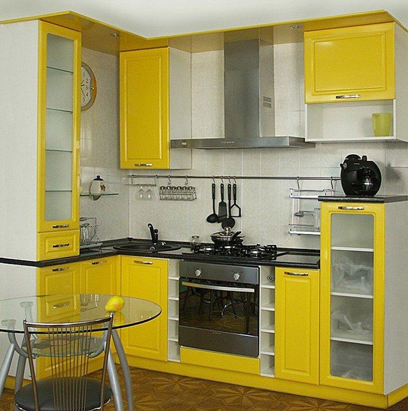 Кухня мебель дизайн для маленькой