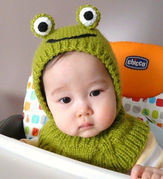 Вязанье шапочек для малышей