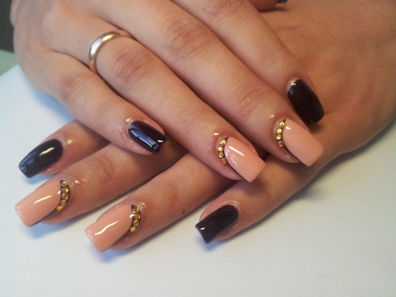 Красивые наращивание ногтей
