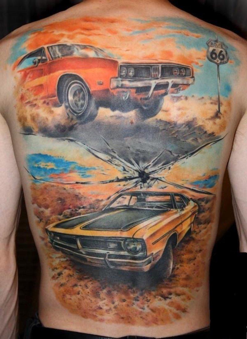 Татуировки фото на авто