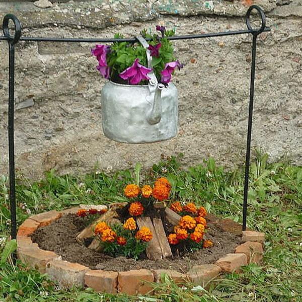 Поделки для дачи сада и огорода