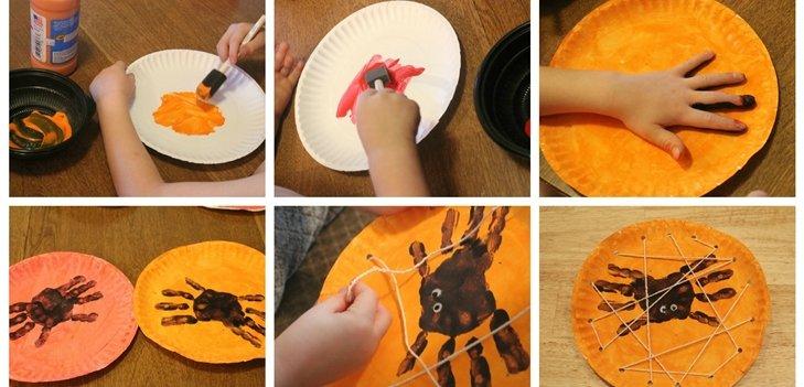 Поделки с детьми на хэллоуин своими руками