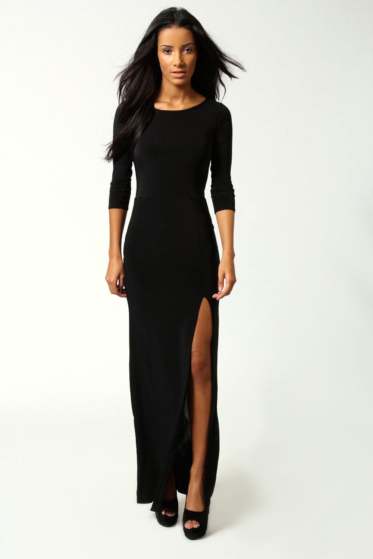 Черные платья по фигуре