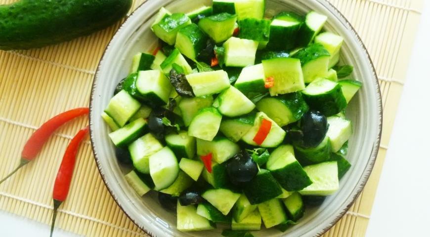 Салат с маслинами рецепт с