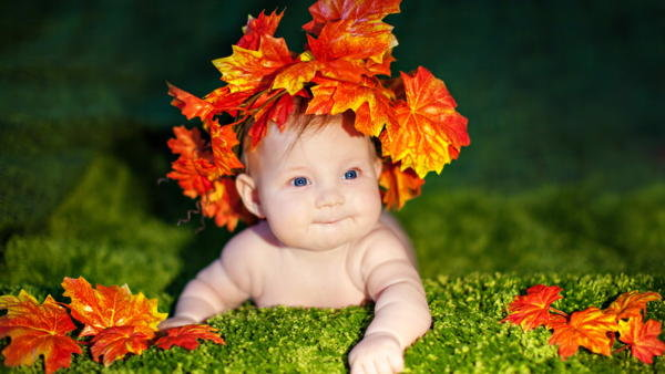 Осенняя фотосессия в домашних условиях