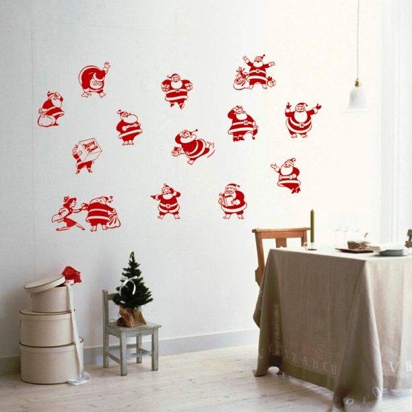 Украшения на стену своими руками на новый год
