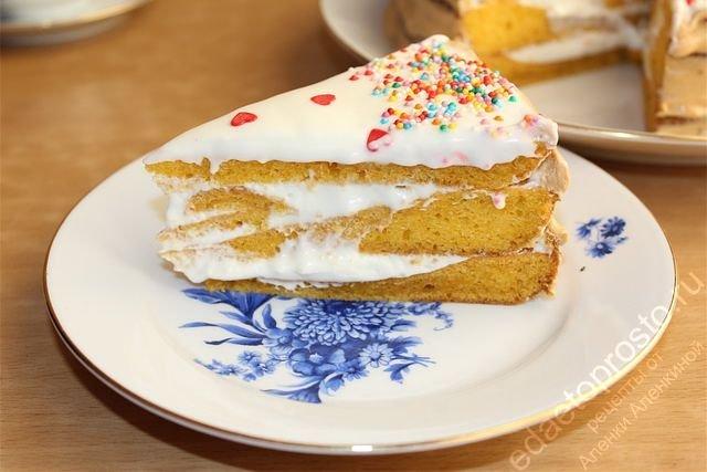 Морковный пирог с майонезом рецепт