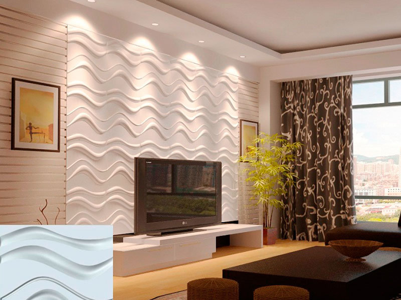 Декоративные панели 3д в интерьере фото