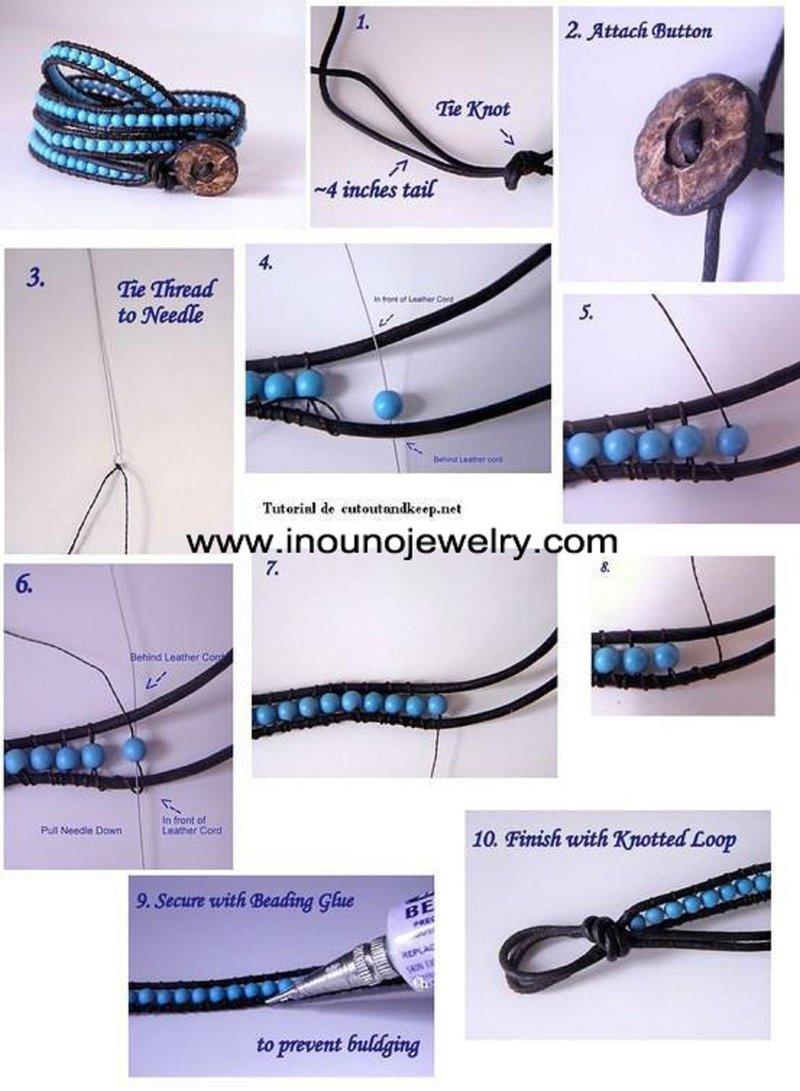 Как сделать браслет в домашних условиях своими руками из ниток