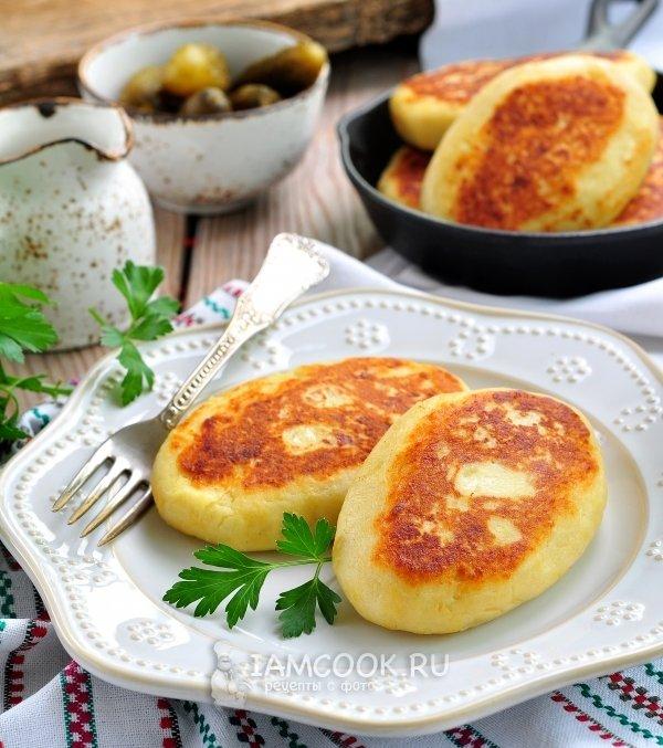 Рецепты зразы картофельные с капустой с фото