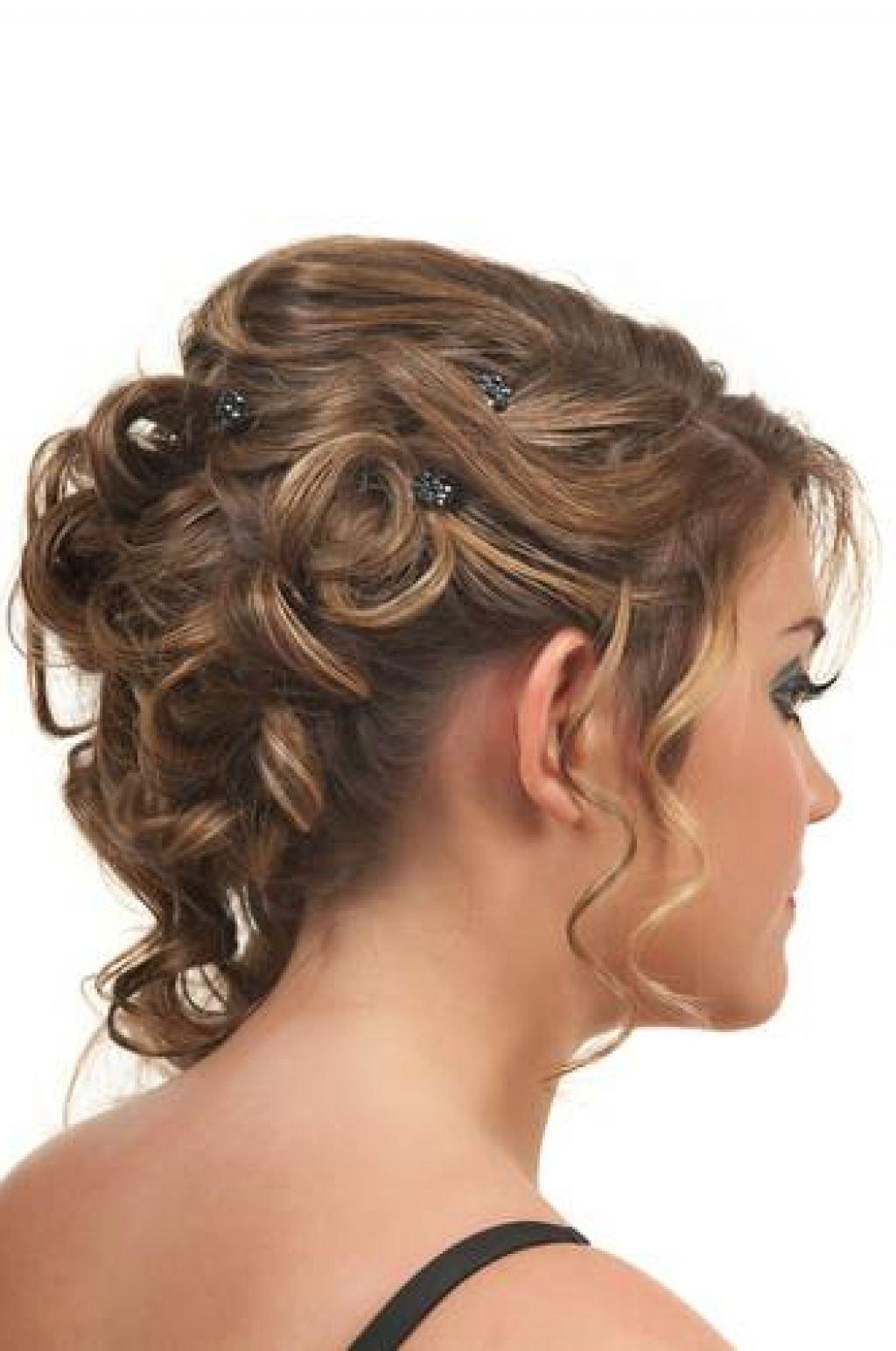 Вечерние причёски кудри на средние волосы