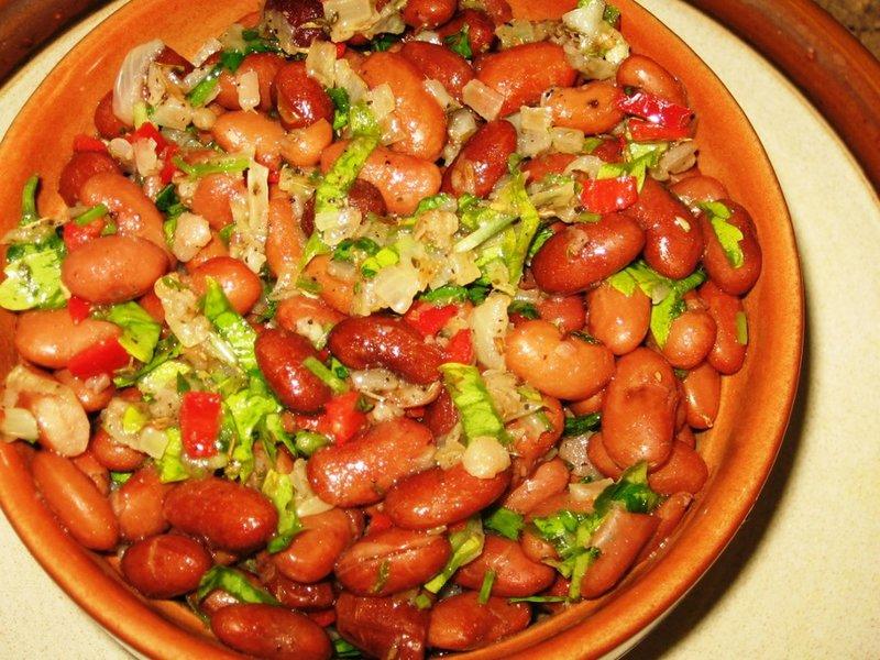 Блюда из фасолью рецепты простые и вкусные
