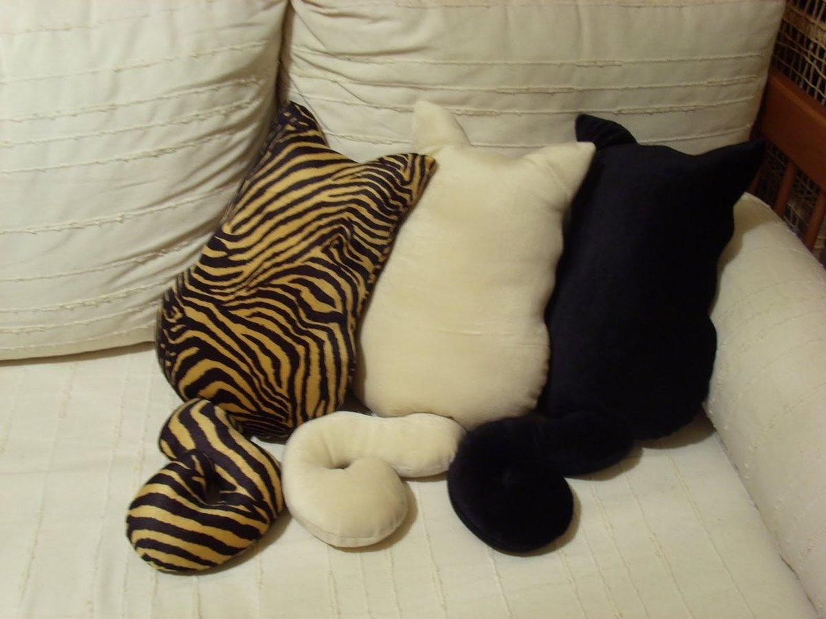 Подушка для кошек своими руками фото 13