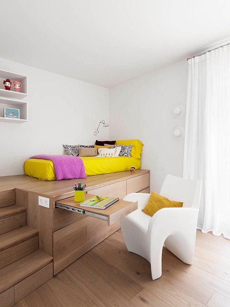 Дизайн комнаты со спальным местом