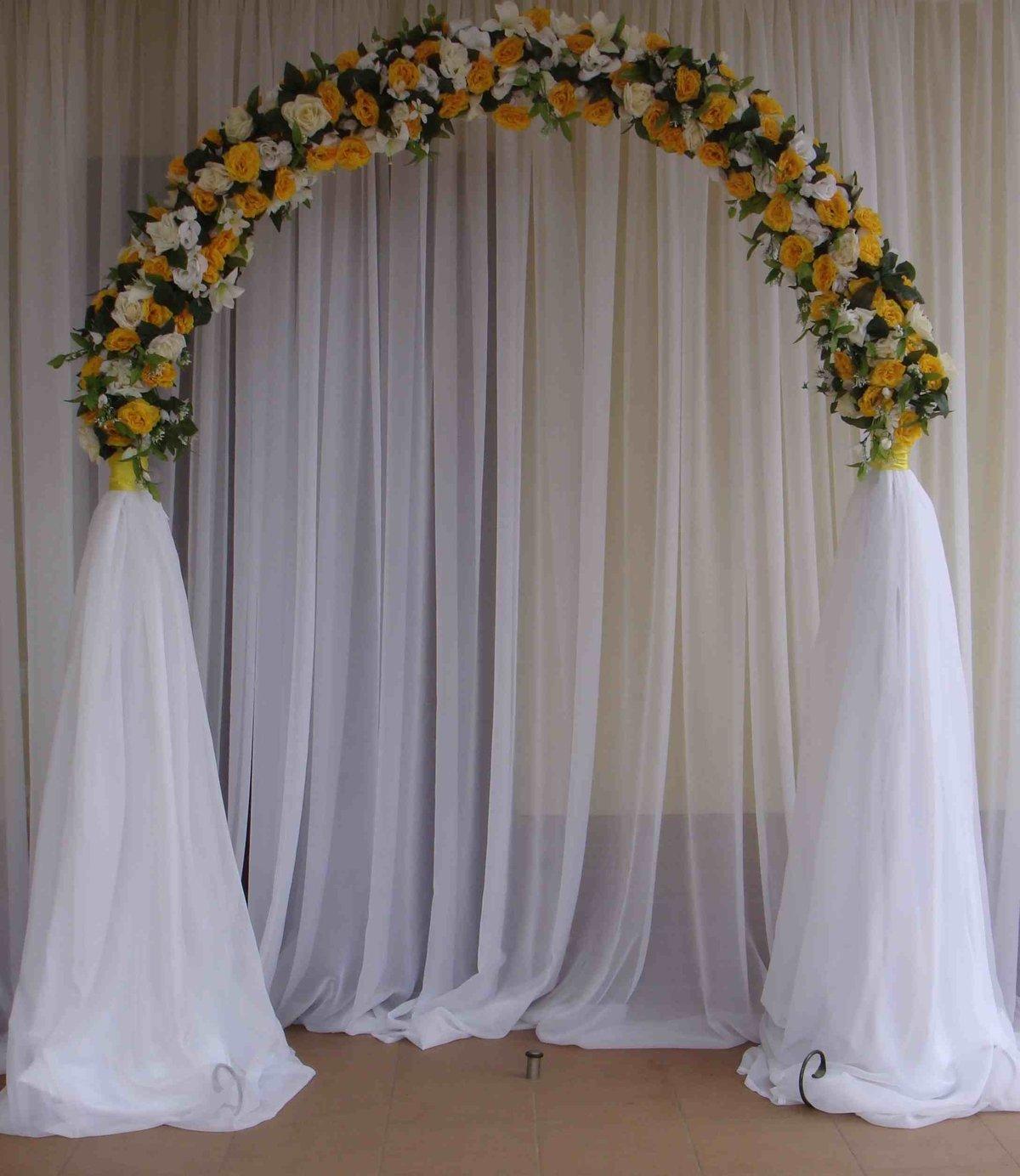 Сделать арку свадебную своими руками