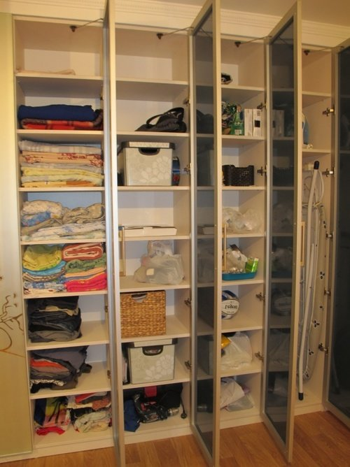 Переделка встроенных шкафов своими руками